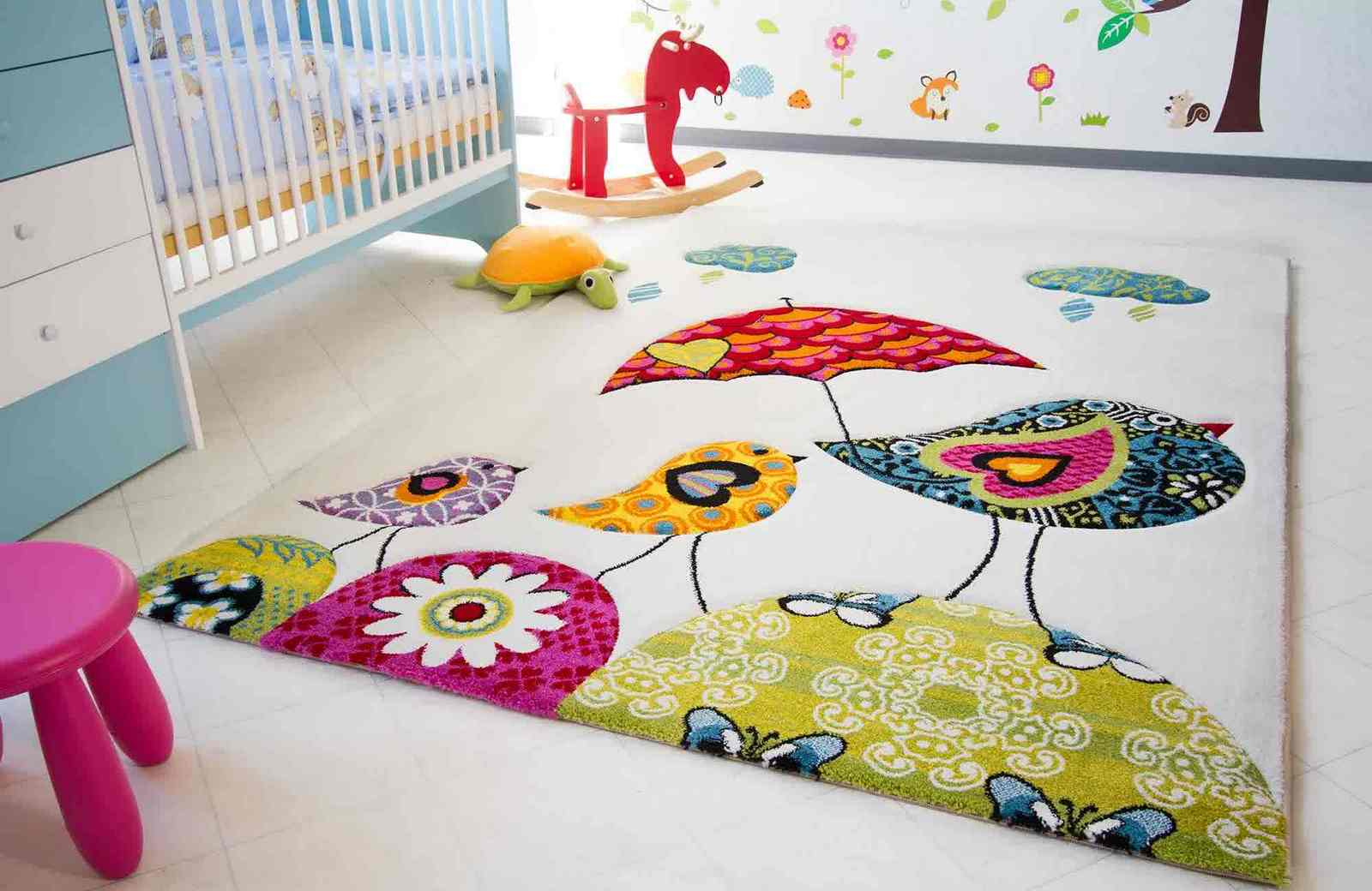 Как выбрать ковер в детскую комнату?
