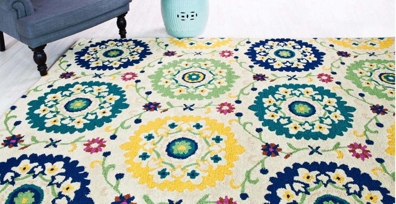 Дизайнерские ковры: мода и красота