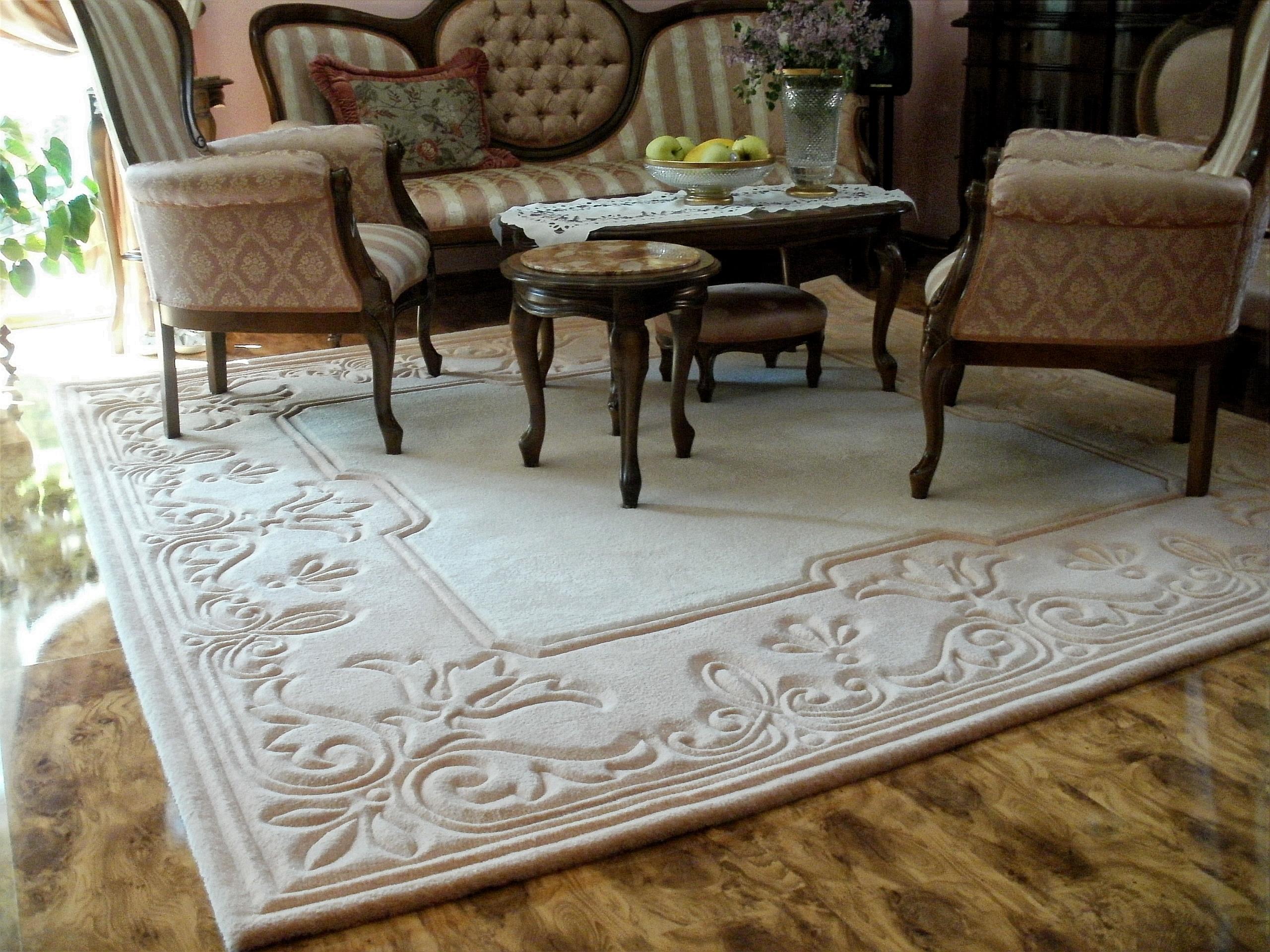 Уникальность рельефных ковров - особенности и уход